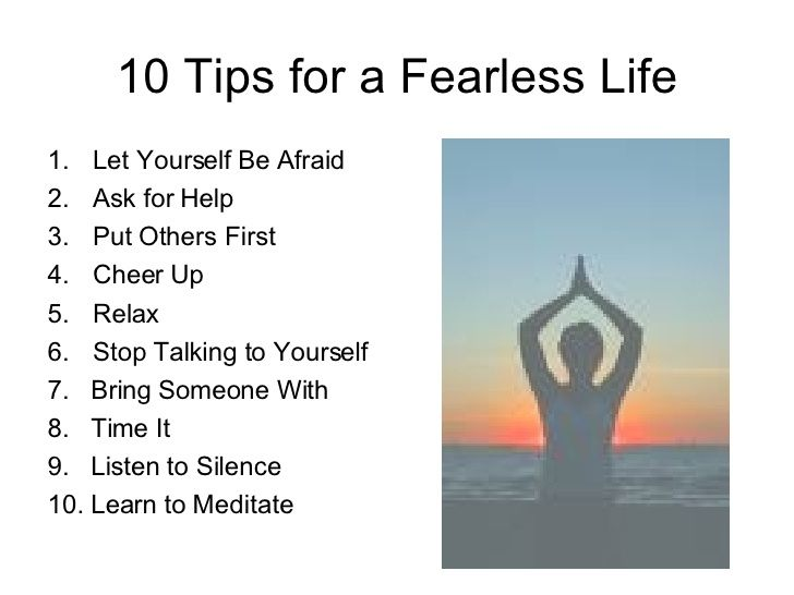 10 TIPS FOR A FEARLESS LIFE virtualassistantsservices