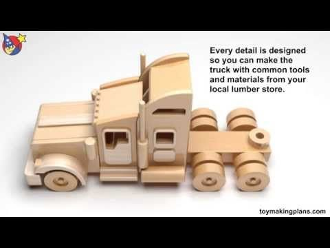 wooden toy making plans