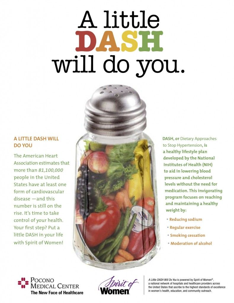 dash diet food for camping