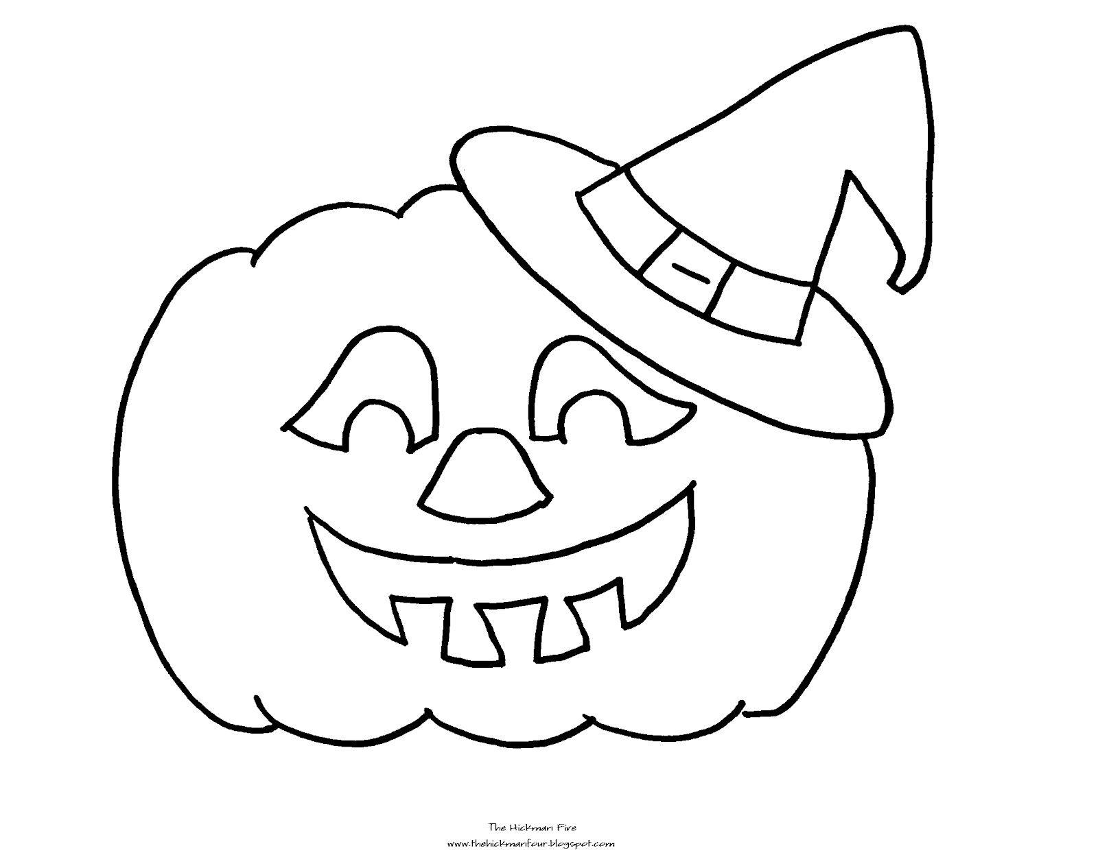 jack o lantern coloring page | kids | Pinterest | Kindergarten
