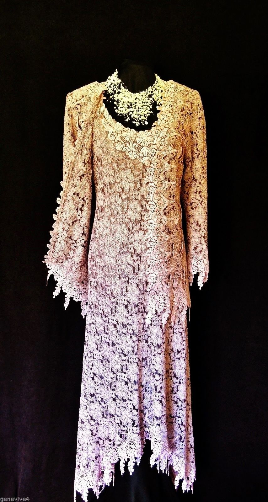 Pink dress and jacket for wedding  An absolutely stunning ANN BALON Italian Inspired Designer in