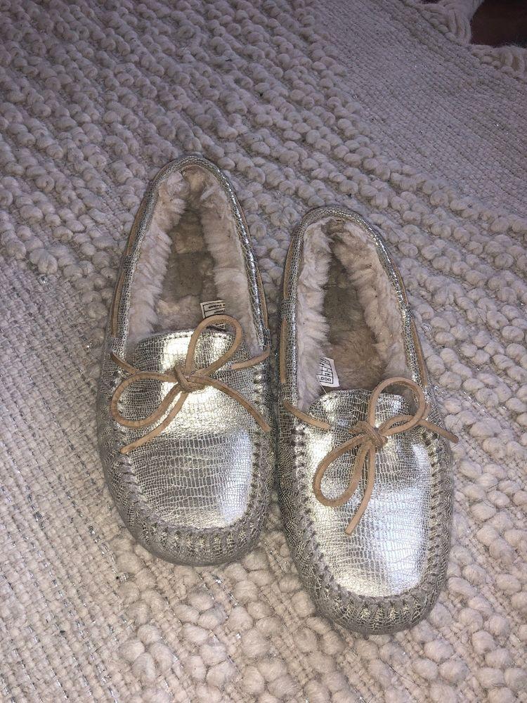 2548a6e0e24 UGG Australia Uggs Womens 9 40 Ansley Antoinette Lace Slippers Shoes ...