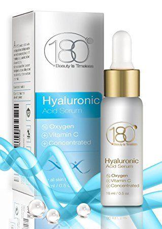 180 Cosmetics El Mejor Suero Puro De ácido Hialurónico Con Oxígeno Y Vitamina C ácido Hialurónico Vitamina E Vitamina C