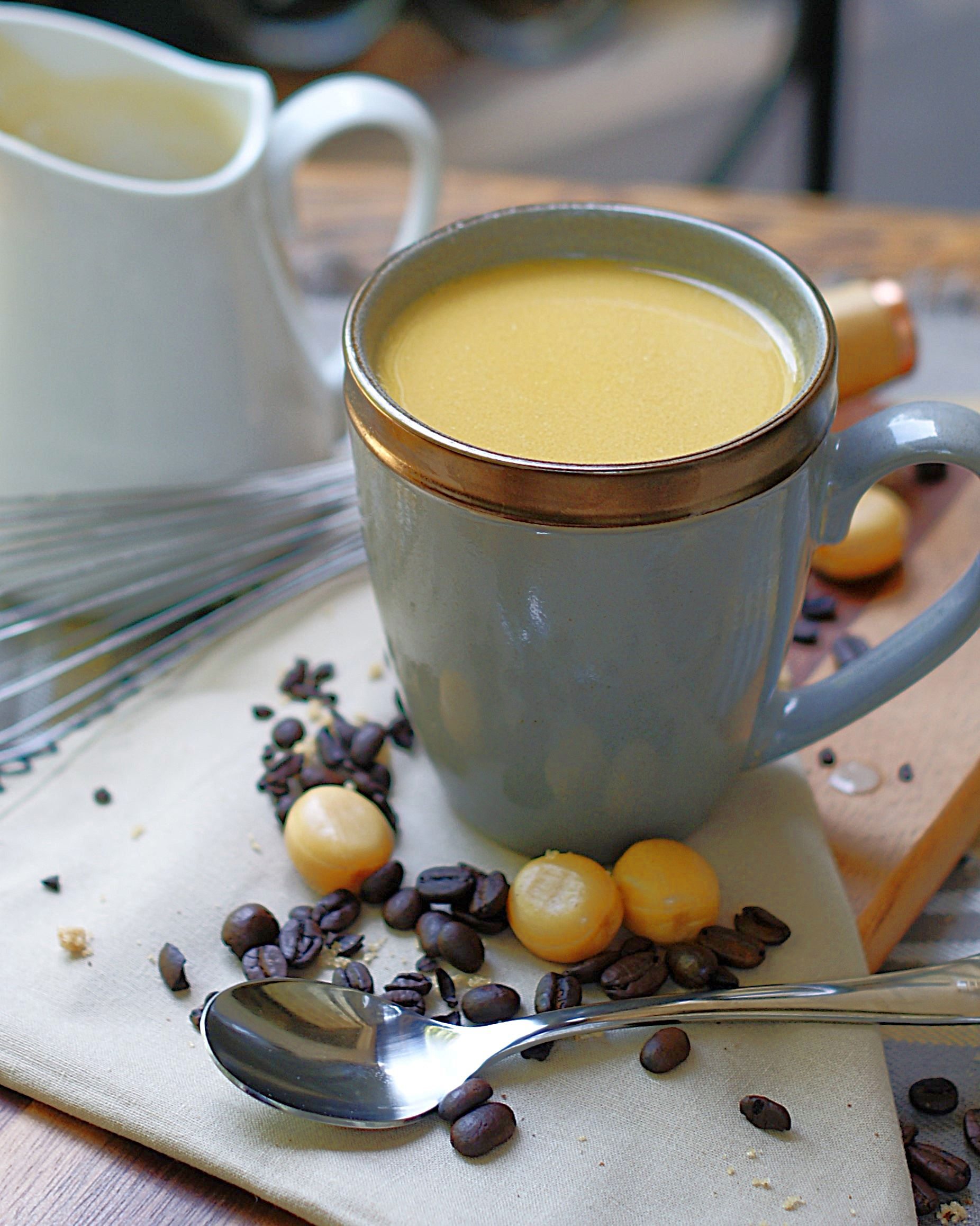 Butterscotch coffee creamer a southern discourse with