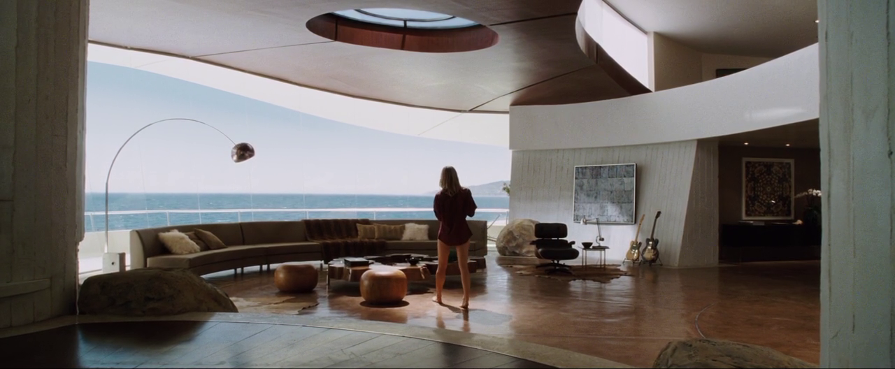 Stark Modernism Tony Stark S Malibu Home From Iron Man Iron Man House Tony Stark House Malibu Homes