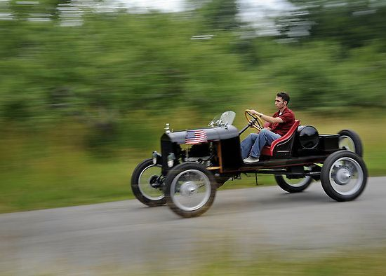 Ford Model T Speedster Made From Recycled Spare Parts Does 42 Mph