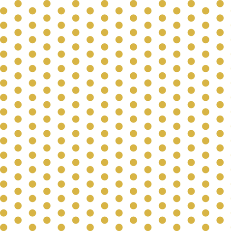 Colorful Fabrics Digitally Printed By Spoonflower Gold Polka Dots Bolinhas
