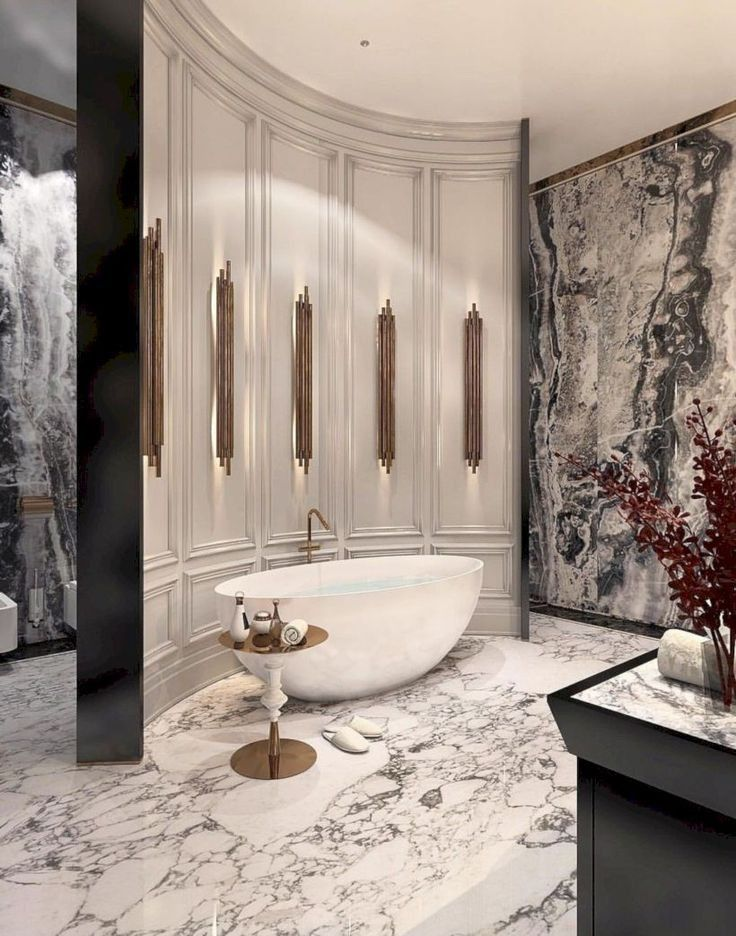 Photo of 32 luxury bathrooms and tips you can copy from them 1 | lingoistica.com