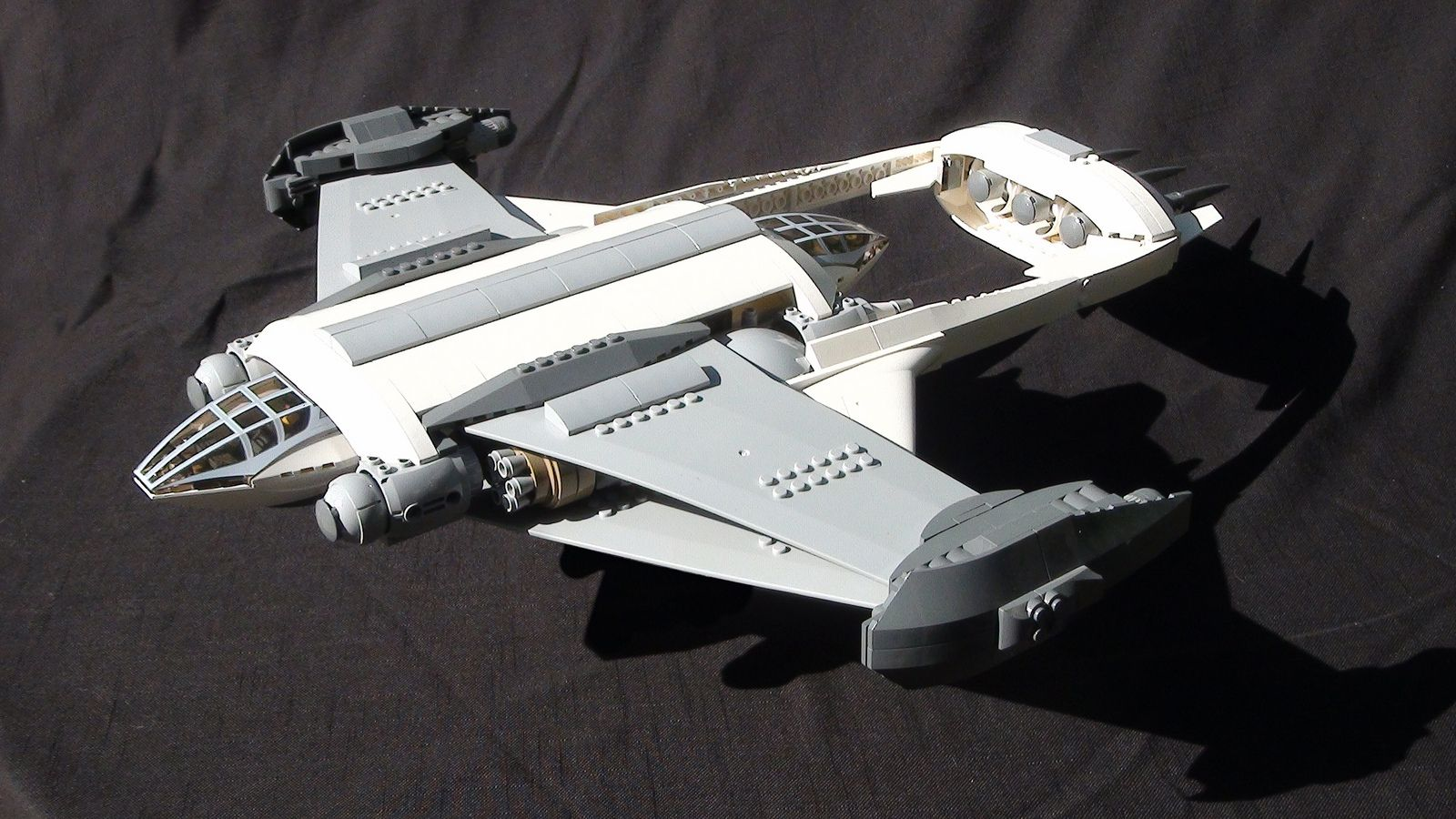Manta Wing 01 Lego Spaceship Lego Ship Space Engineers Ships Design