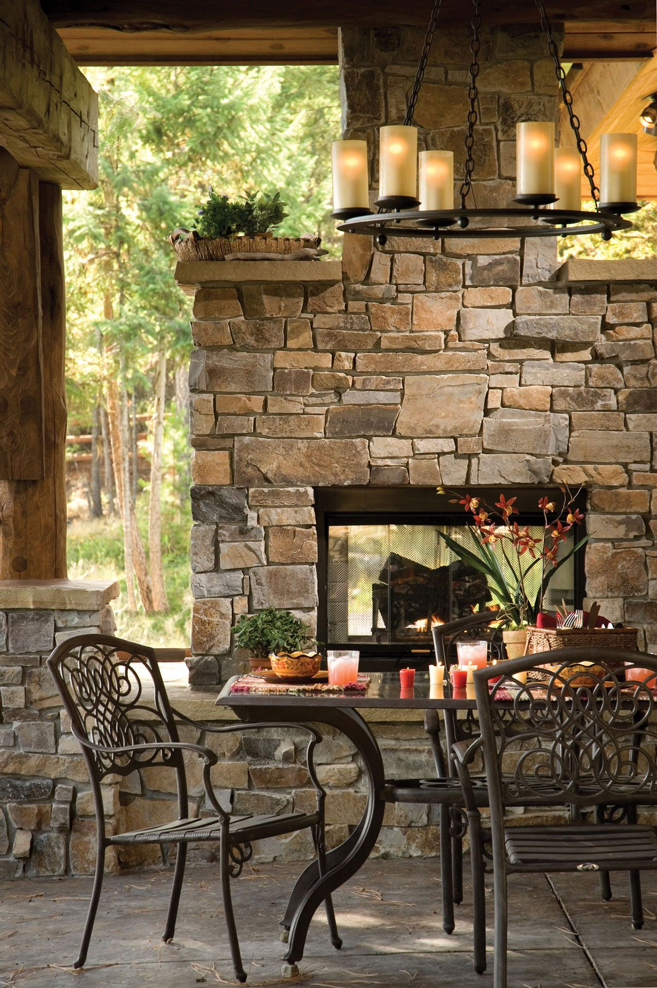 Castle Rock Ledge Full Thickness | Outdoor fireplace ... on Rock And Stone Outdoor Living id=40186