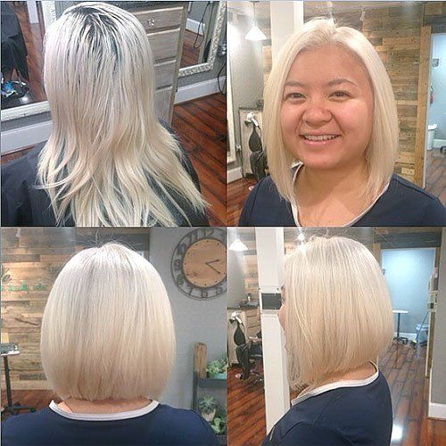 40 Stylish And Sassy Bobs For Round Faces Bob Haircut For Round Face Bobs For Round Faces Round Face Haircuts