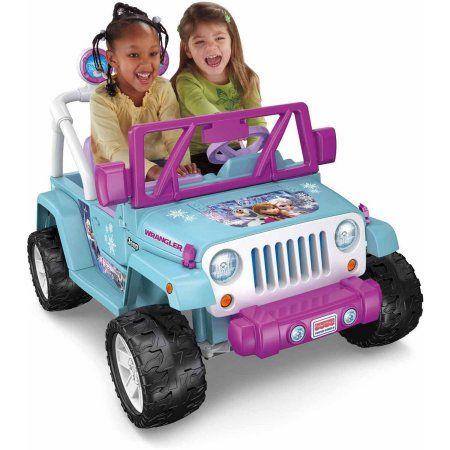 power wheels disney frozen jeep wrangler battery powered ride on gift ideas for kids affiliate link