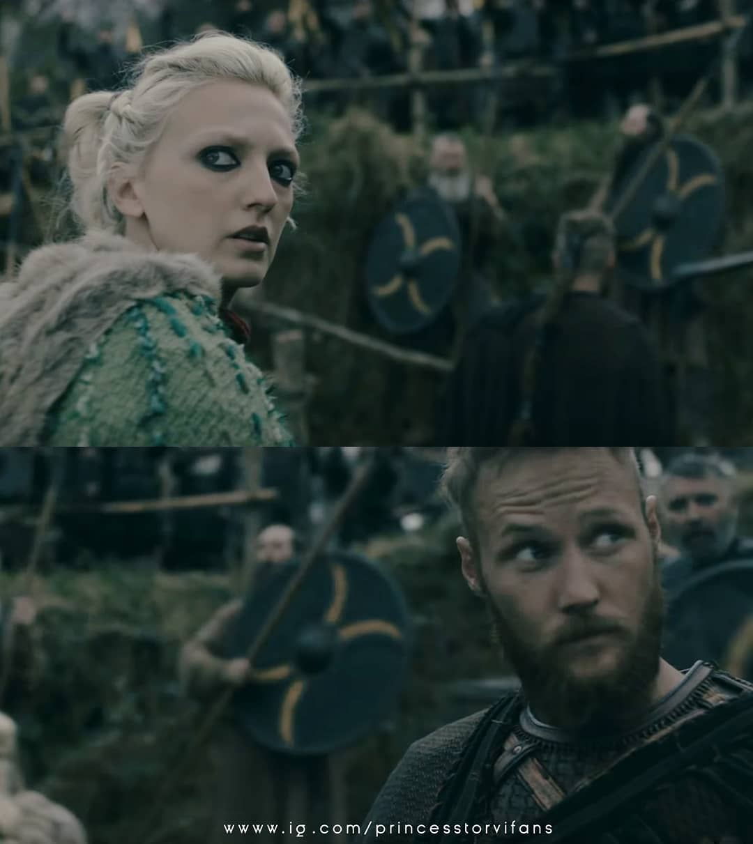Torvi And Ubbe On Vikings S5b First Trailer Have You Watched The
