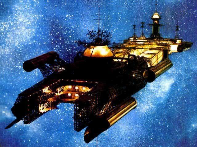 The U.S.S. Cygnus | The Black Hole | Sci-Fi Spacecraft ...