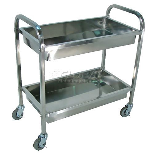 Stainless Steel Carts Food Service Hospital Cart Lab Medical Cart And Kitchen Carts Steel Tub Small Shelves Medical Cabinet