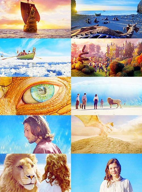 Voyage of the Dawn Treader.