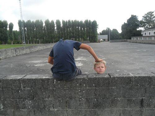 Foto illusies tijdens het fotografiekamp