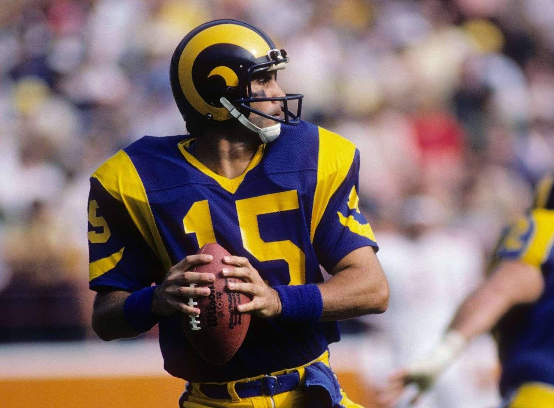 Vince Ferragomo Super Bowl Xiv Pittsburgh Steelers 31 Los Angeles Rams 19passer Rating 70 7passing Stats 15 Fo Quarterback Rams Football Los Angeles Rams