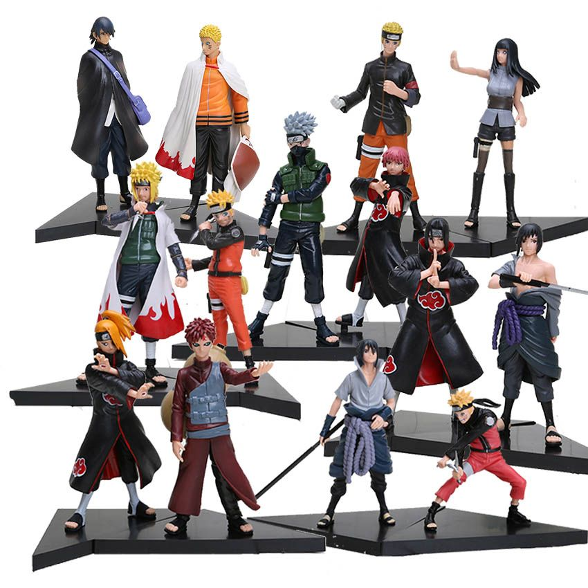 New 2pcs Set Naruto Friend With Images Anime Figures