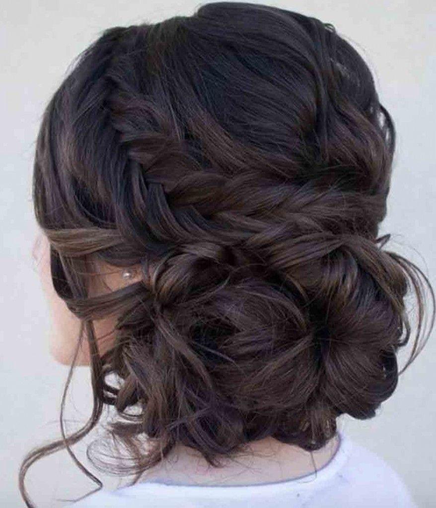 Kapsel lang haar naar een kant
