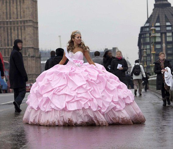 Bigest Gypsy Prom Dress