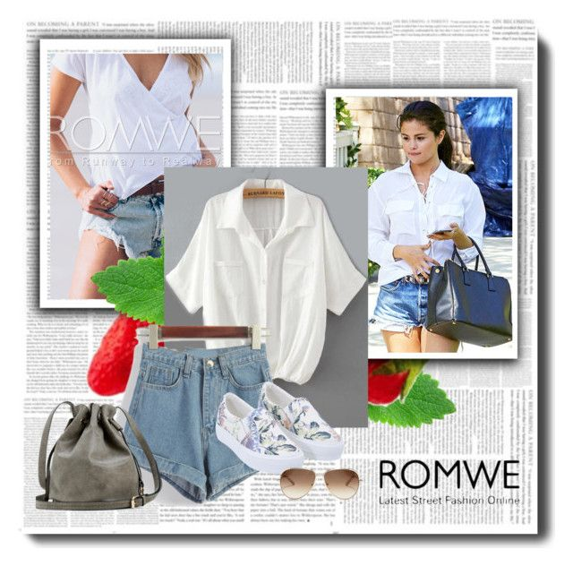 """""""ROMWE"""" by merima-ahmetovic ❤ liked on Polyvore featuring Dukes, Chloé and romwe"""