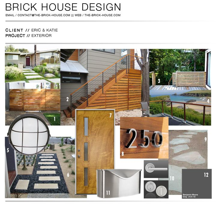 Brick Home Exterior Design Ideas: @Jeanette Parks Check Out The Stairs.