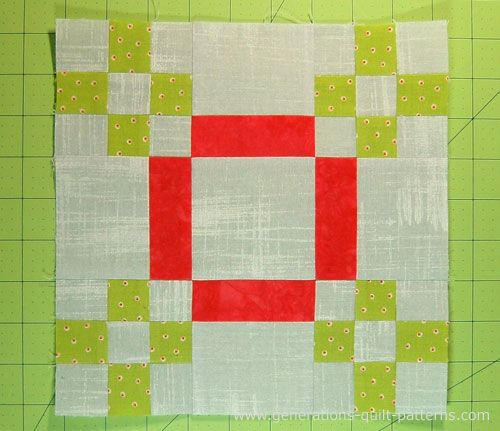 Five Patch Quilt Block Pattern 404040 And 40 Finished Quilts Stunning Generations Quilt Patterns