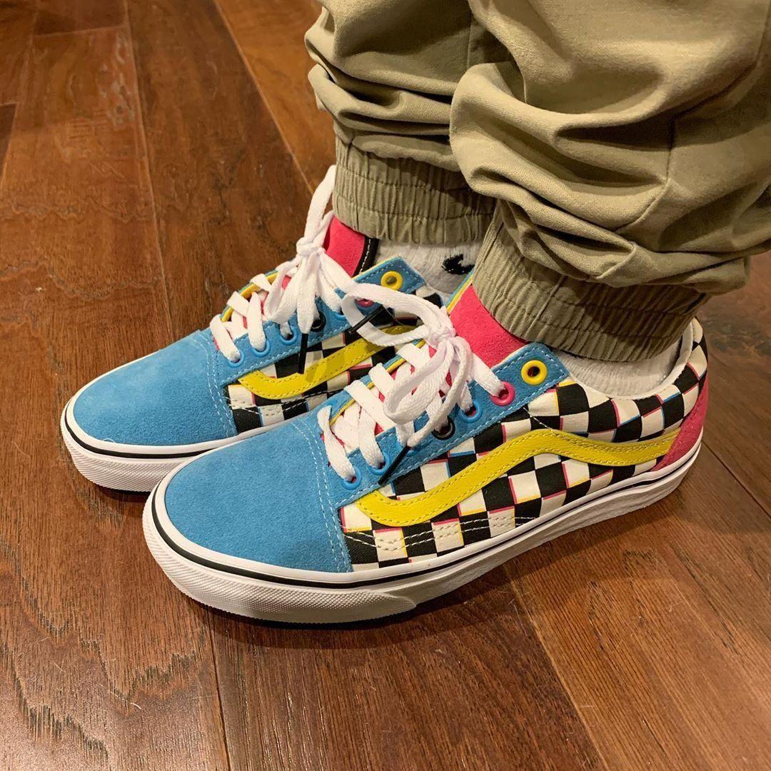 JOURNEYS EXCLUSIVE | Vans Old Skool Checkerboard -- photo credit ...