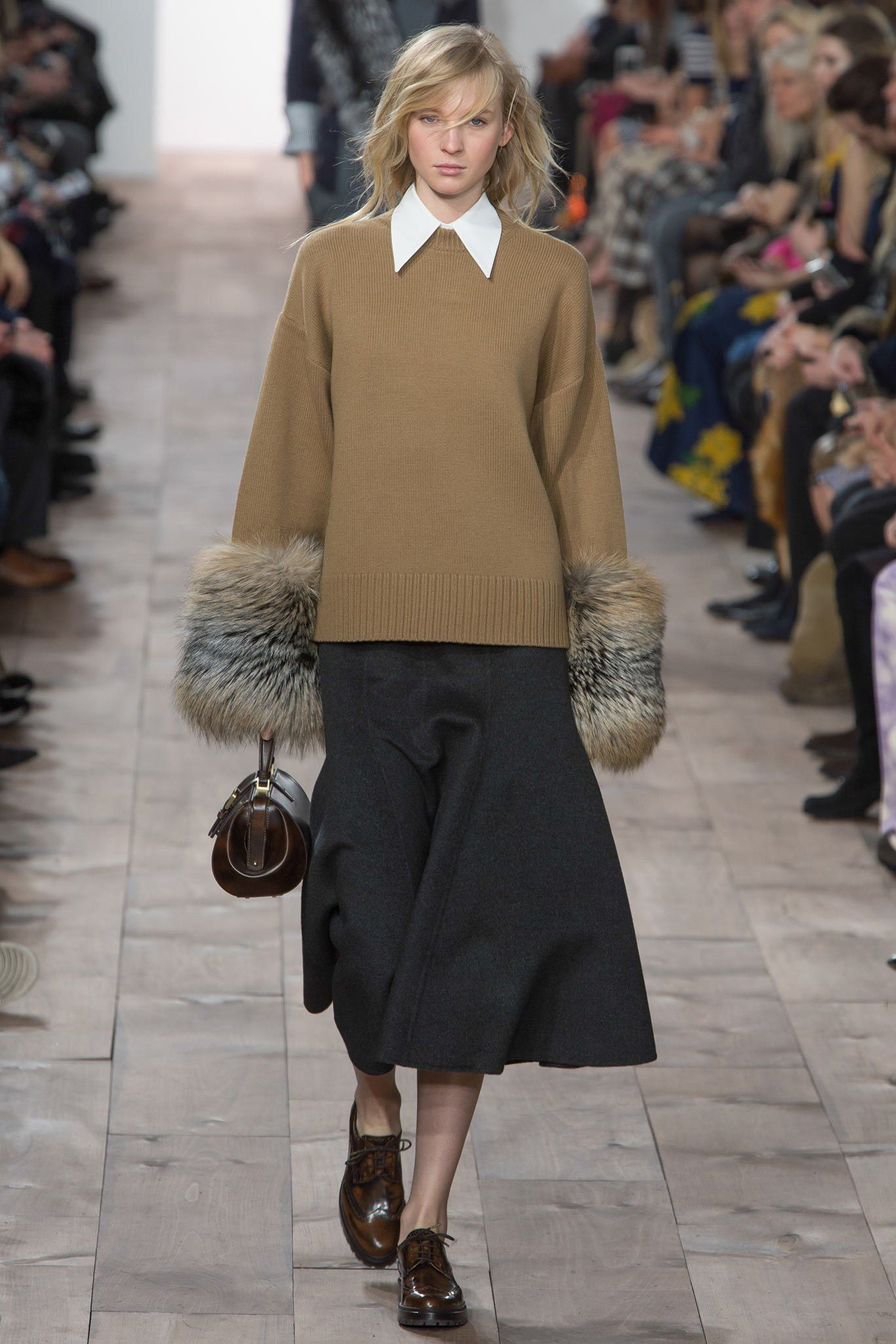 Michael Kors Collection Fall 2015 Ready-to-Wear Fashion Show - Nastya Sten