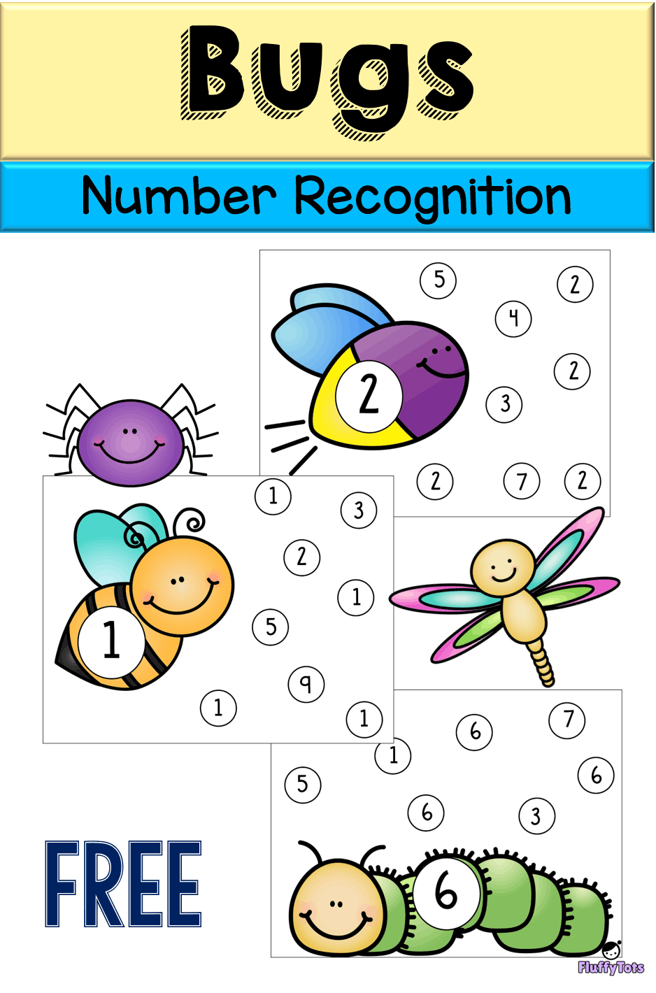 Free Bugs Number Recognition For Preschool Prek And Kindergarten Perfect For Stud Math Activities Preschool Numbers Preschool Preschool Insects Activities [ 1420 x 938 Pixel ]
