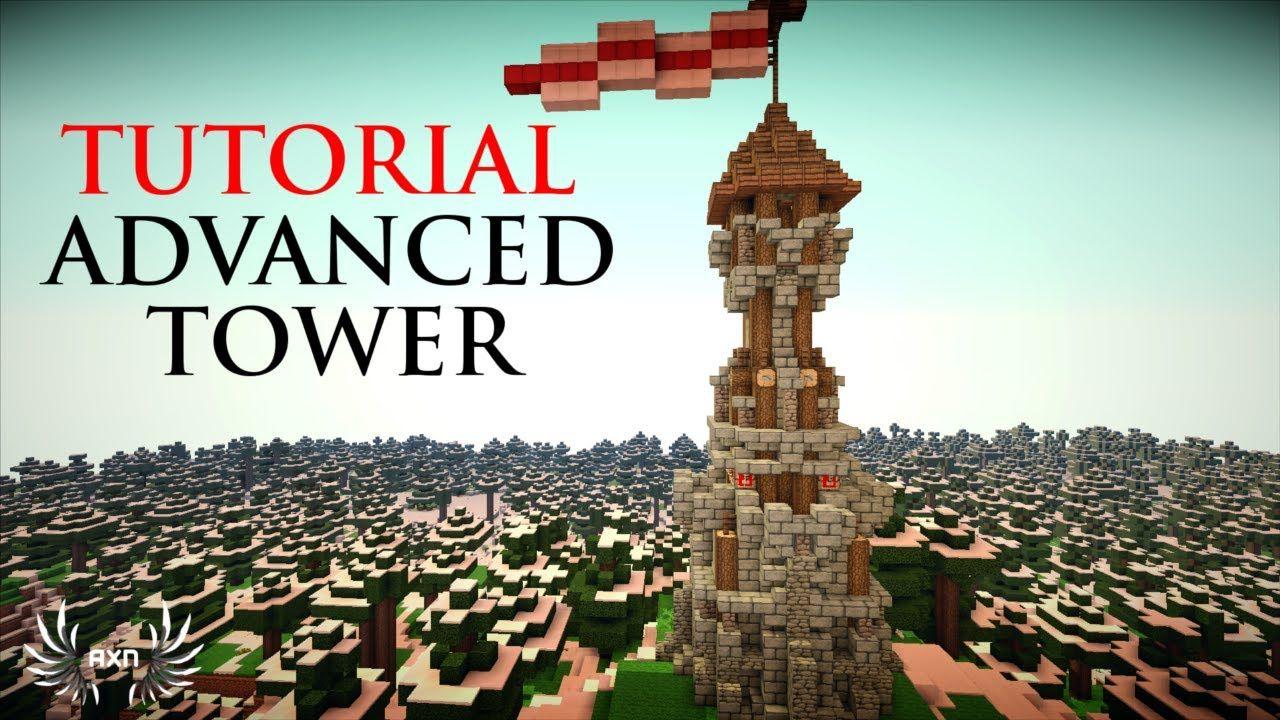 Minecraft Tutorials Advanced Tower Design Tower Design