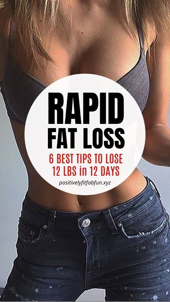 How to lose weight fast - 6 tips to lose 12 pounds in 12 days | lose weight in a month flat stomach...