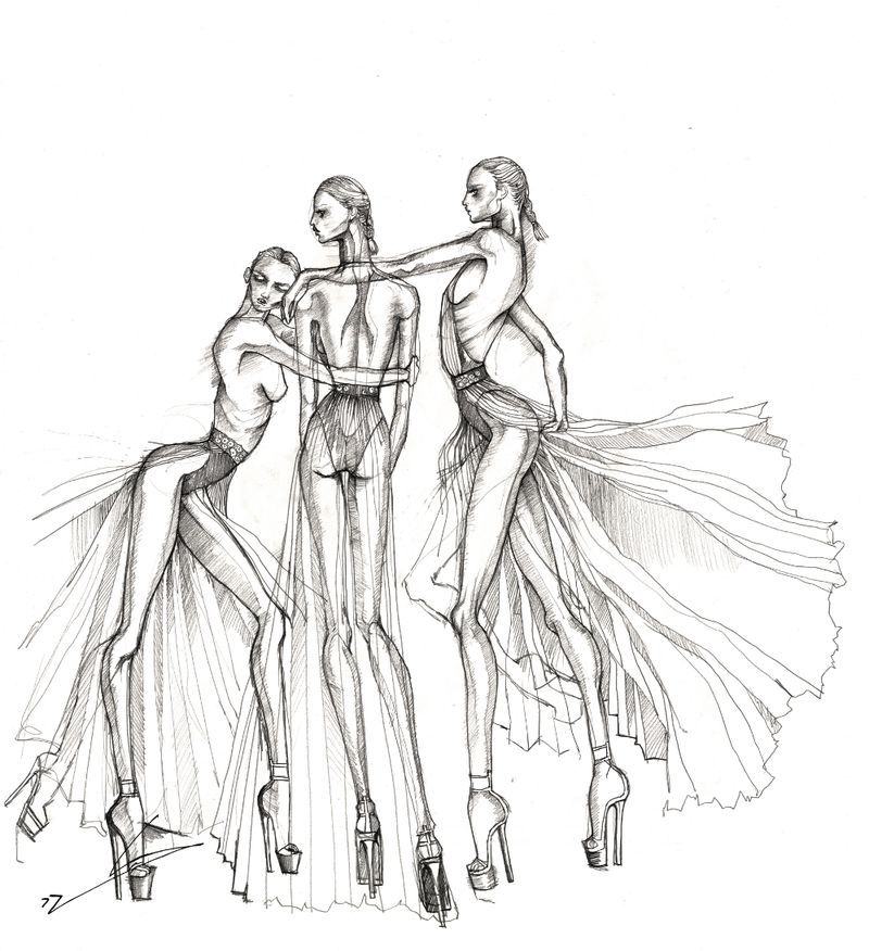 fashion illustration different poses - Google Search ...