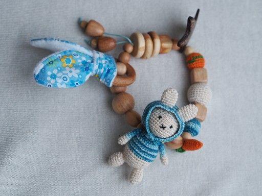 Amigurumi Bunny Ears : Brandy the crochet amigurumi bunny sold by tiny tea party on