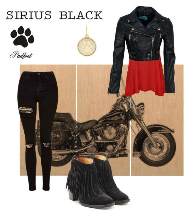 """Sirius Black"" by chelocean93 ❤ liked on Polyvore featuring Sirius, WearAll, Topshop, Fiorentini + Baker and Alex and Ani"