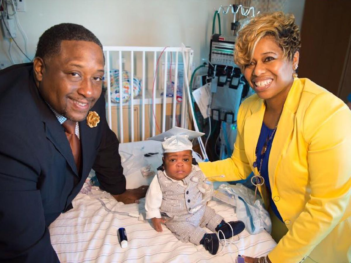 "Dana and Arkell Graves, whose pregnancy announcement after 17 years of infertility went viral, have finally taken their son Kaleb home after 355 days in intensive care. ""At this very moment, …"