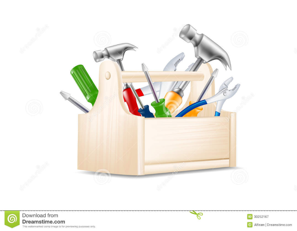 Illustration About Vector Illustration Of Toolbox Icon Illustration Of Service Vector Metal 30252167 Tool Box Vector Icon