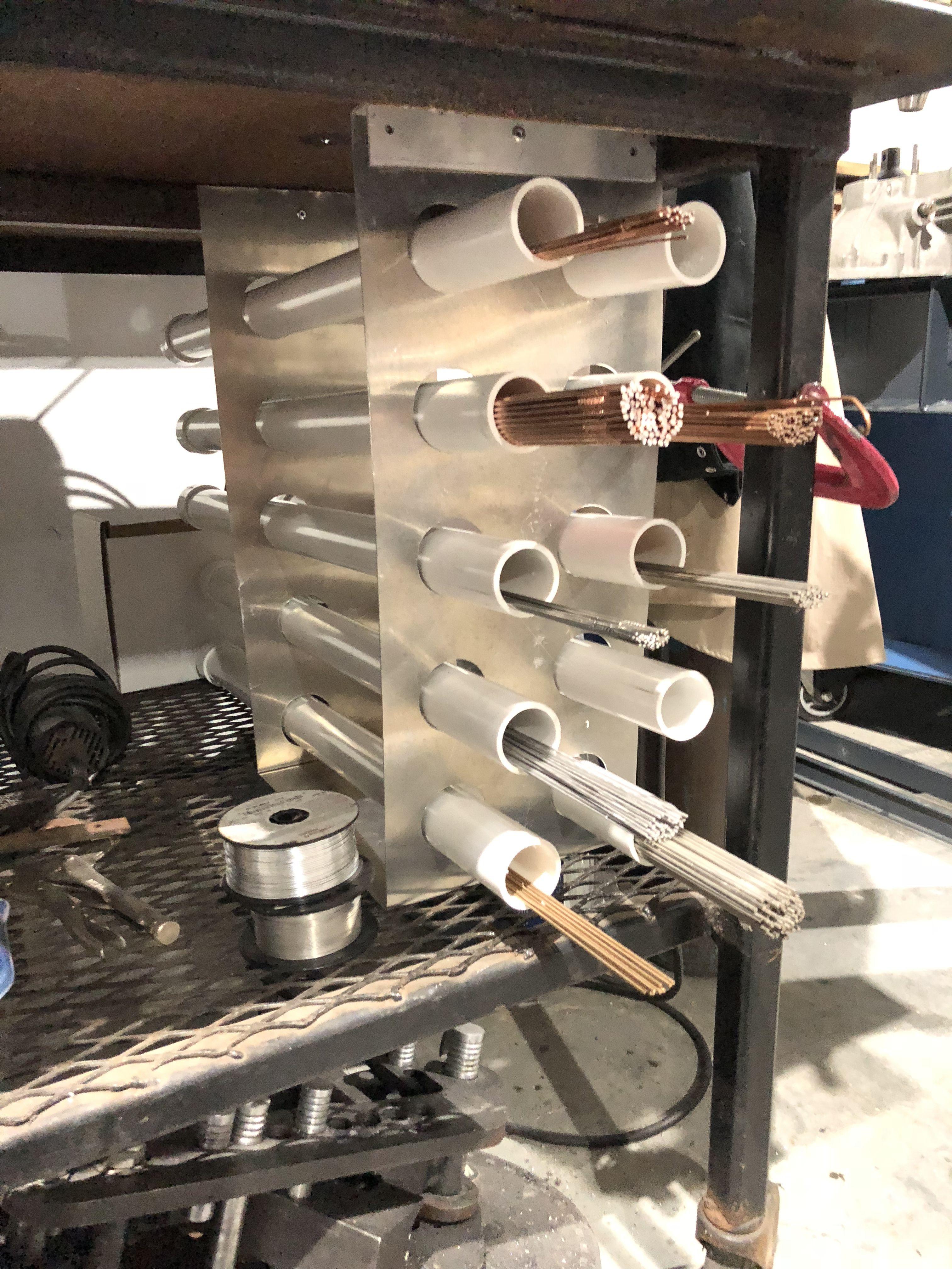 Filler rod storage tig welding welding rods metal