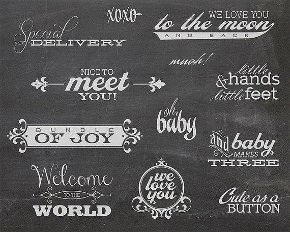 12 word overlays baby newborn phrases photo overlay text photo