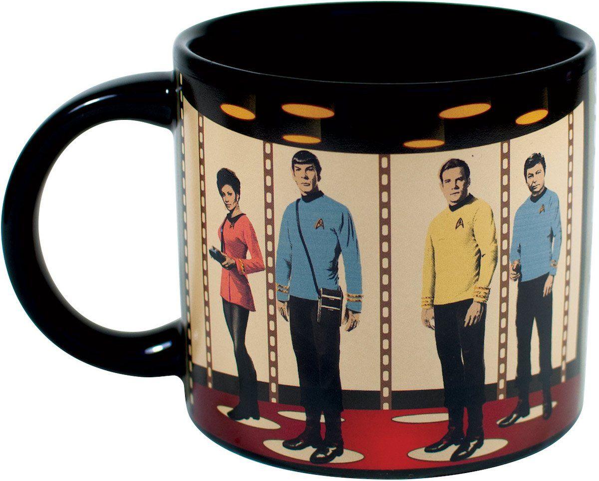 Star Trek Transporter Heat Changing Coffee Mug Add Hot