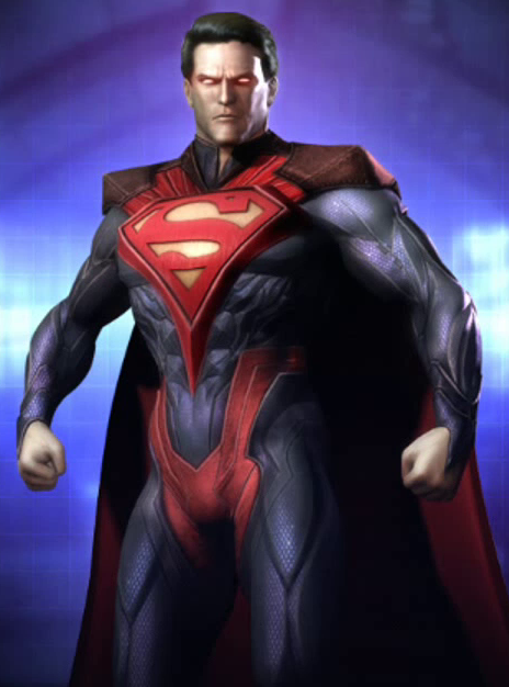 Regime Superman, a dark character that is similar to
