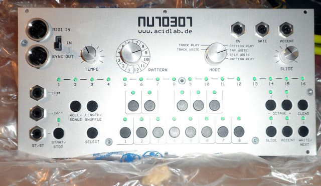 MATRIXSYNTH: ACIDLAB AUTOBOT eurorack TB-303 style sequencer