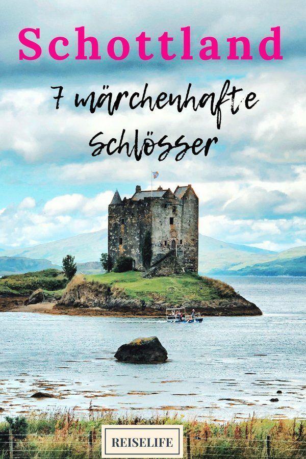 Schottland Schlösser - 7 märchenhafte Castles! - ↠REISELIFE↞