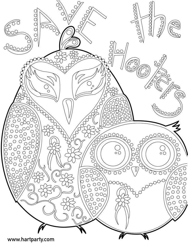 Save the Hooters coloring page and traceable for the #cac… | Serpa ...