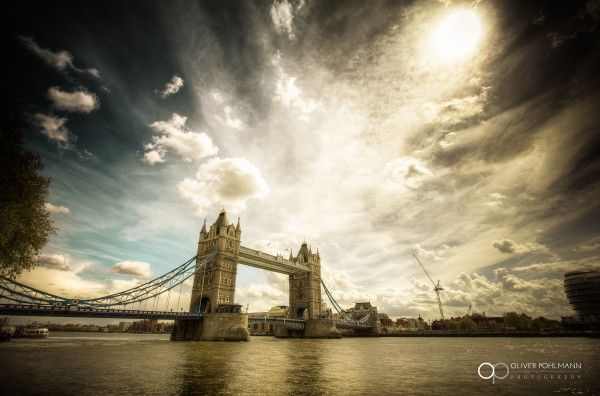 Iconic Tower Bridge from a recent #photography walk around the city of London -