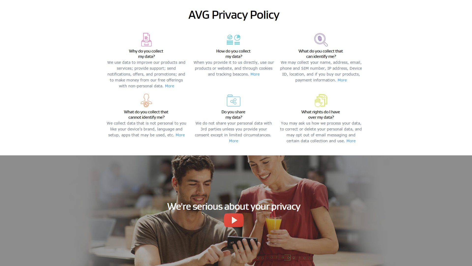 AVG Says It Can Sell Your Browsing And Search History To