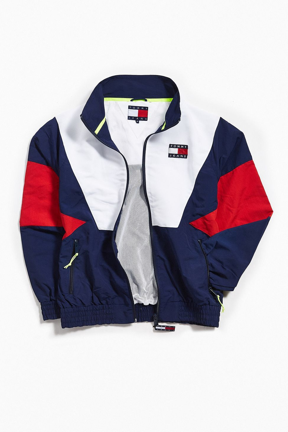 d3c0e3cc Urban Outfitters Tommy Hilfiger '90S Track Jacket - Navy | Products ...
