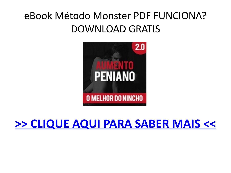 método monster pdf