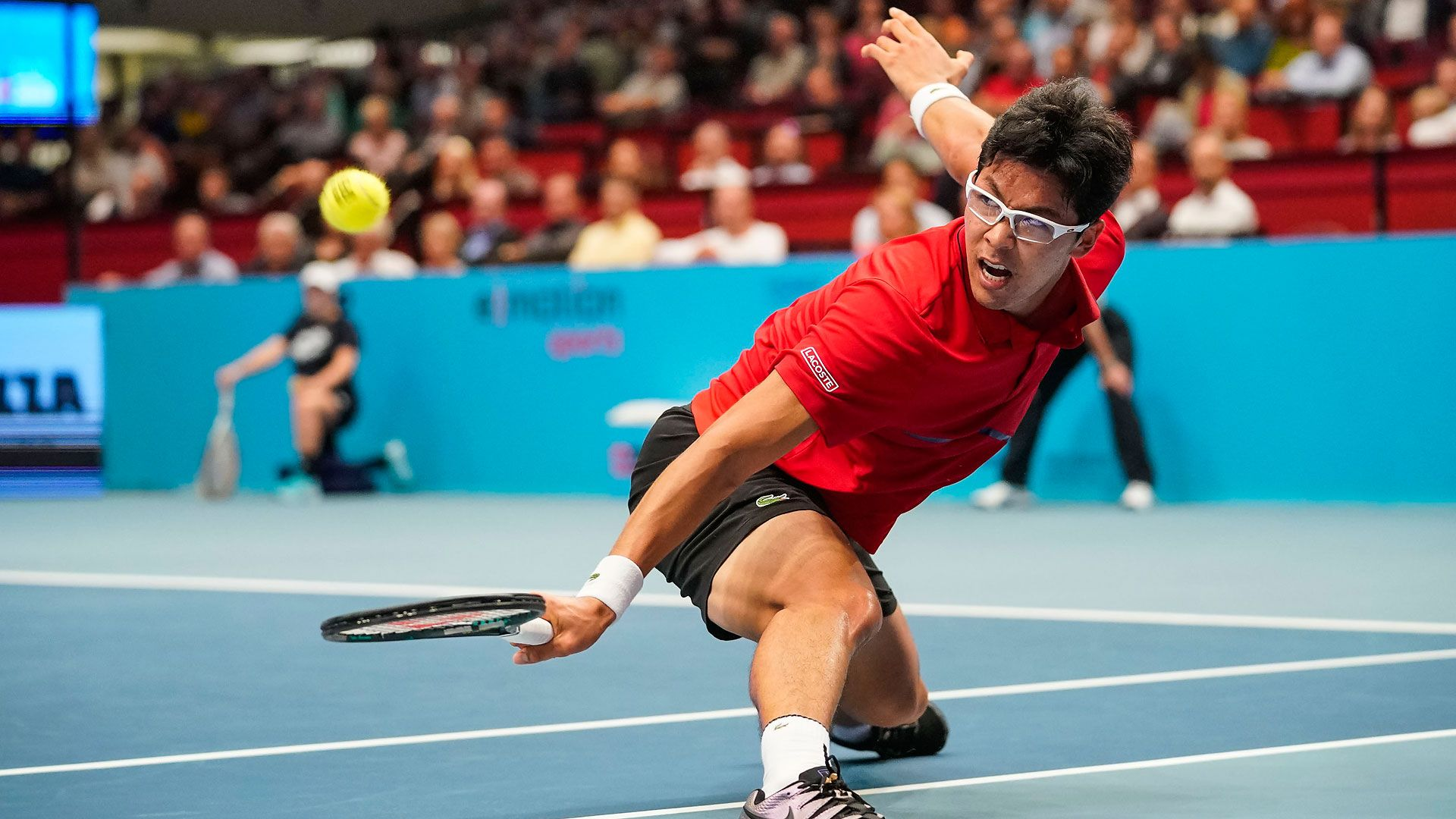 Hyeon Chung Earned A Confidence Boosting Victory On Tuesday To Hand Milos Raonic His Second Straight First Round Exit At Th Milos Raonic Back Injury Victorious
